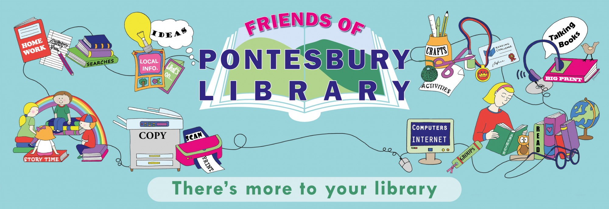 Pontesbury Library